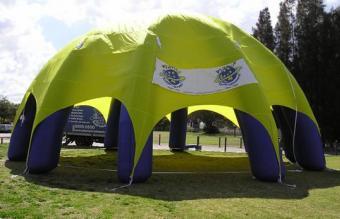 充气帐篷1