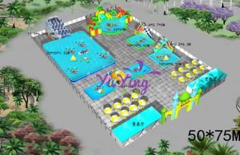 水上乐园场地图