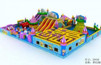 梦幻城堡充气城堡