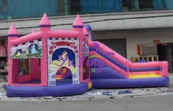 国外公主充气城堡